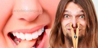 Fio dental fica com mal cheiro quando passa entre os dentes, o que pode ser?