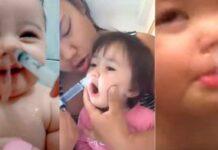 Lavagem nasal com soro e seringa em bebês pode ser perigoso.