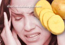 Enxaqueca: Neurologista ensina truque com batatas para dor de cabeça