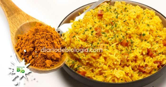 arroz com açafrão benefícios do açafrão