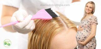 gravida pode pintar o cabelo
